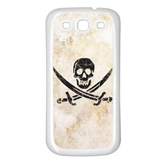 Pirate Samsung Galaxy S3 Back Case (white)