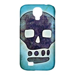 Textured Skull Samsung Galaxy S4 Classic Hardshell Case (PC+Silicone)