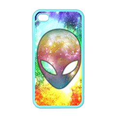 Space Alien Apple Iphone 4 Case (color)