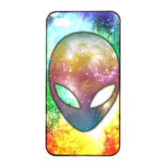 Space Alien Apple Iphone 4/4s Seamless Case (black)