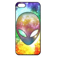 Space Alien Apple Iphone 5 Seamless Case (black)
