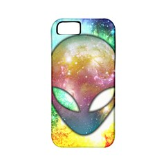 Space Alien Apple iPhone 5 Classic Hardshell Case (PC+Silicone)