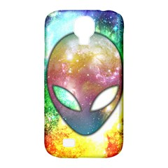 Space Alien Samsung Galaxy S4 Classic Hardshell Case (PC+Silicone)