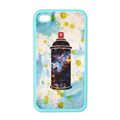 Spray Paint Apple Iphone 4 Case (color)