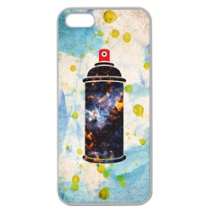 Spray Paint Apple Seamless Iphone 5 Case (clear)