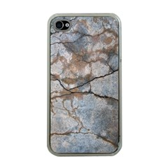 Stone Apple iPhone 4 Case (Clear)