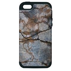 Stone Apple Iphone 5 Hardshell Case (pc+silicone)