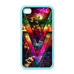 Triangles Apple iPhone 4 Case (Color) Front