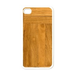 Wood Design Apple iPhone 4 Case (White)