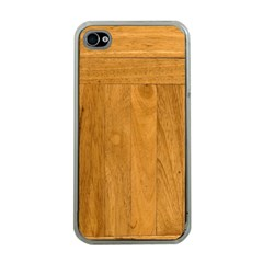 Wood Design Apple Iphone 4 Case (clear)