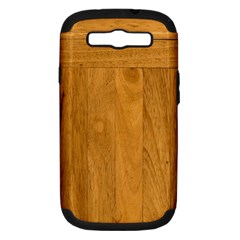 Wood Design Samsung Galaxy S Iii Hardshell Case (pc+silicone)