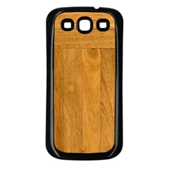 Wood Design Samsung Galaxy S3 Back Case (black)