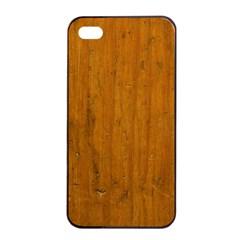 Dark Wood Apple Iphone 4/4s Seamless Case (black)