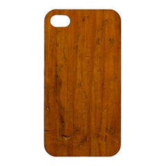 Dark Wood Apple Iphone 4/4s Hardshell Case