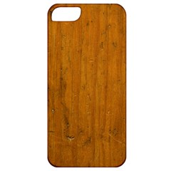 Dark Wood Apple Iphone 5 Classic Hardshell Case