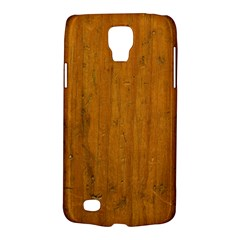 Dark Wood Samsung Galaxy S4 Active (i9295) Hardshell Case