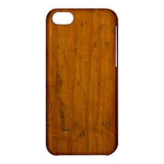 Dark Wood Apple Iphone 5c Hardshell Case