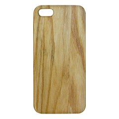 Light Wood Iphone 5s Premium Hardshell Case