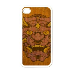 Demon Apple iPhone 4 Case (White)