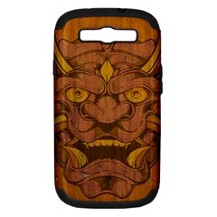 Demon Samsung Galaxy S Iii Hardshell Case (pc+silicone)
