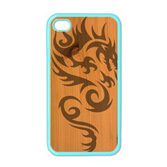 Tribal Dragon Apple iPhone 4 Case (Color)