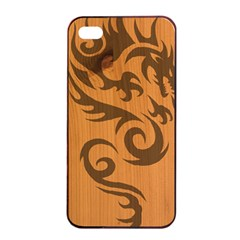 Tribal Dragon Apple Iphone 4/4s Seamless Case (black)