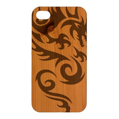 Tribal Dragon Apple Iphone 4/4s Hardshell Case