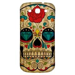 Sugar Skull Samsung Galaxy S3 S III Classic Hardshell Back Case