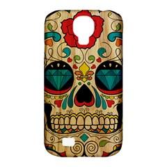 Sugar Skull Samsung Galaxy S4 Classic Hardshell Case (PC+Silicone)