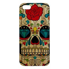 Sugar Skull Iphone 5s Premium Hardshell Case