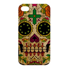 Sugar Skull Apple Iphone 4/4s Hardshell Case