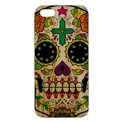 Sugar Skull iPhone 5 Premium Hardshell Case