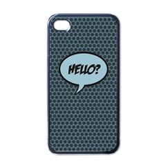 Hello Apple iPhone 4 Case (Black)