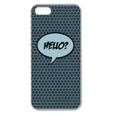 Hello Apple Seamless iPhone 5 Case (Clear)