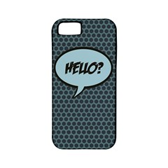 Hello Apple Iphone 5 Classic Hardshell Case (pc+silicone)