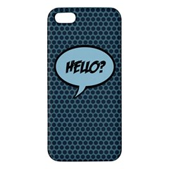 Hello Iphone 5 Premium Hardshell Case