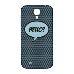 Hello Samsung Galaxy S4 I9500/I9505  Hardshell Back Case
