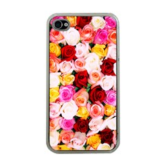 Stop & Smell the iPhone Apple iPhone 4 Case (Clear)