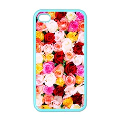 Stop & Smell the iPhone Apple iPhone 4 Case (Color)