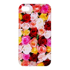 Stop & Smell The Iphone Apple Iphone 4/4s Premium Hardshell Case