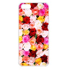 Stop & Smell the iPhone Apple iPhone 5 Seamless Case (White)