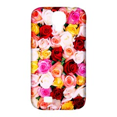 Stop & Smell The Iphone Samsung Galaxy S4 Classic Hardshell Case (pc+silicone)
