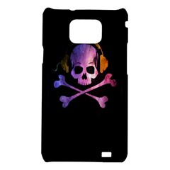 Rock out with your Skull out... Samsung Galaxy S II i9100 Hardshell Case