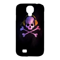 Rock out with your Skull out... Samsung Galaxy S4 Classic Hardshell Case (PC+Silicone)