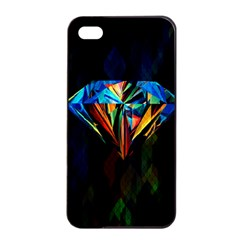 Diamonds Are Forever  Apple Iphone 4/4s Seamless Case (black)