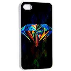 Diamonds Are Forever  Apple Iphone 4/4s Seamless Case (white)