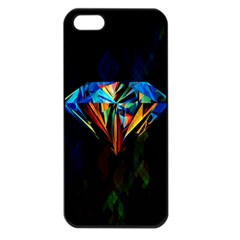 Diamonds are forever. Apple iPhone 5 Seamless Case (Black)