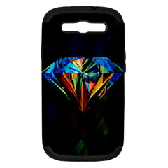 Diamonds Are Forever  Samsung Galaxy S Iii Hardshell Case (pc+silicone)