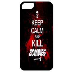 Keep Calm & Kill Zombies Apple iPhone 5 Classic Hardshell Case
