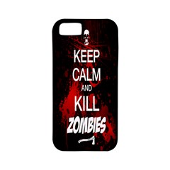 Keep Calm & Kill Zombies Apple iPhone 5 Classic Hardshell Case (PC+Silicone)